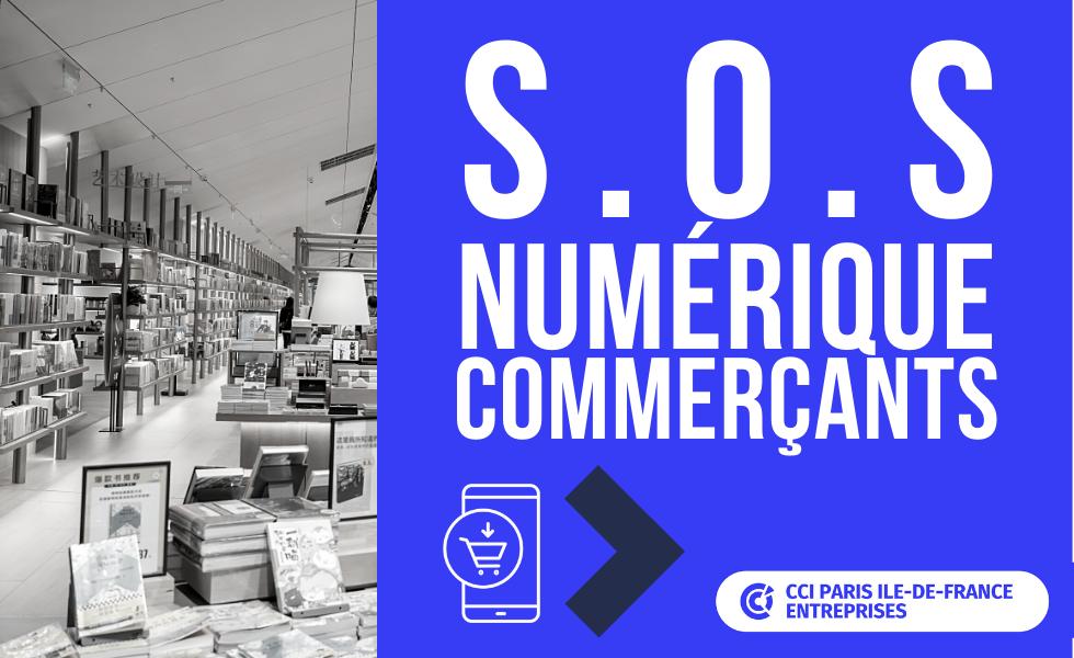 SOS numérique commerçants