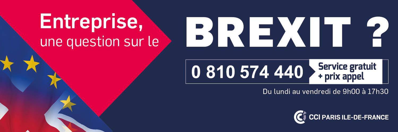 N° azur Brexit 0810 574 440