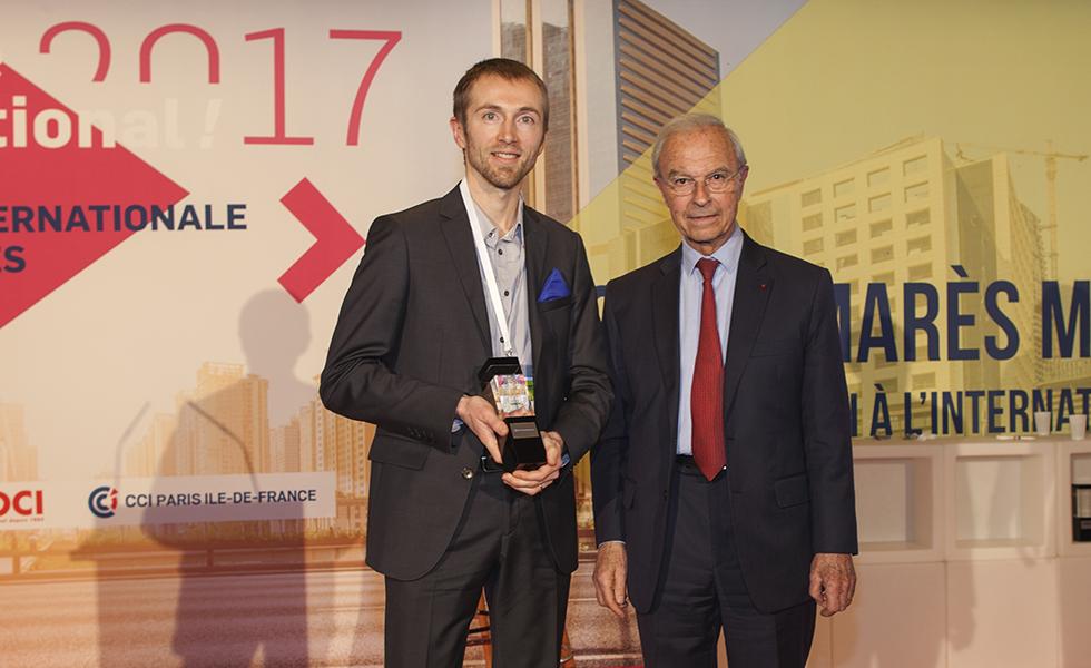 Prix CCI Paris Ile-de-France Exportateur francilien de l'année 2017 : société Interlude