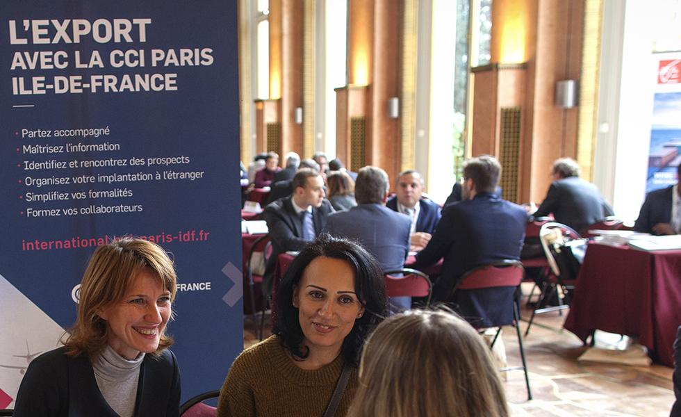 Rendez-vous B to B avec des experts de la CCI paris Ile-de-France