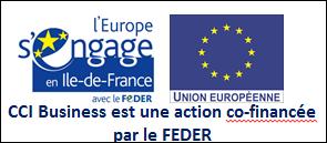 Logo FEDER pour CCI Business