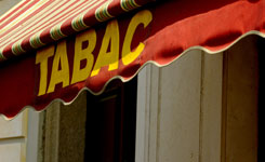 Auvent Tabac