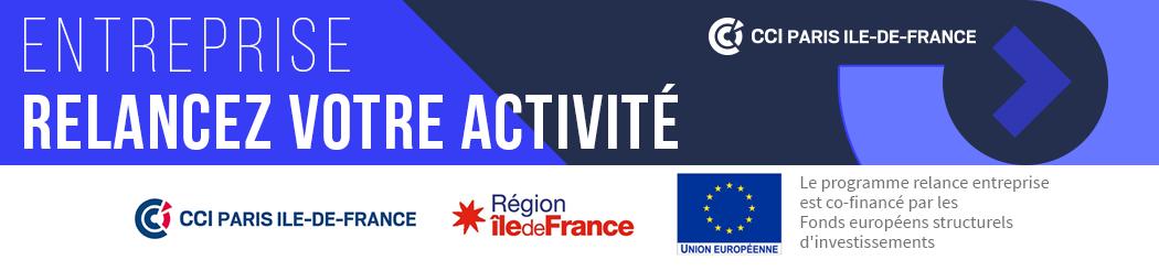 Le programme Relance entreprise est co-financé par les Fonds européens Structurels d'investissements